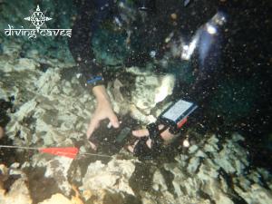 Geraldine Solignac - Deep Dark Diving Yucatan